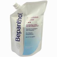 Abbildung von Bepanthol Intensiv Körperlotion im Nachfüllbeutel  400 ml