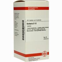 Abbildung von Berberis D12  Tabletten 200 Stück