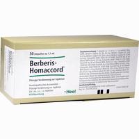 Berberis Homaccord  Ampullen 50 Stück