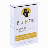 Abbildung von Bio H Tin Vitamin H 2.5mg für 4 Wochen Tabletten 28 Stück