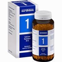 Biochemie 1 Calcium Fluoratum D12  Tabletten 800 Stück