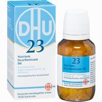 Abbildung von Biochemie 23 Natrium Bicarbonicum D6 Tabletten Dhu-arzneimittel 200 Stück