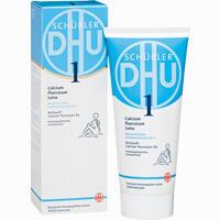 Abbildung von Biochemie Dhu 1 Calcium Fluoratum D4 Lotio Creme 200 ml