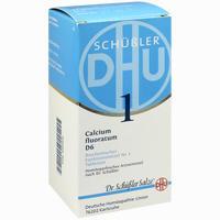 Biochemie Dhu 1 Calcium Fluoratum D6 Tabl.  Tabletten 420 Stück