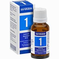 Biochemie Globuli Nr. 1 Calcium Fluoratum D12   15 g