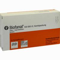 Abbildung von Biofanal 25g Salbe+6 Vaginaltabletten Kombipackung 1 Packung