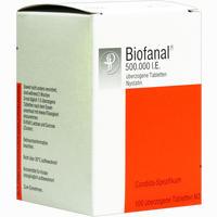 Abbildung von Biofanal Tabletten 100 Stück