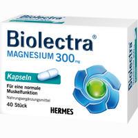 Biolectra Magnesium 300 Kapseln   40 Stück