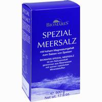Abbildung von Biomaris Spezial Meersalz  500 g