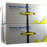 Biomo Lipon 600mg Infusions Set  Ampullen 10 Stück