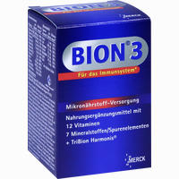 Bion 3 Multivitamin Tabletten   30 Stück