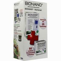 Bionano Blutzucker-messsystem + 75 Teststreifen  Kombipackung 1 Packung
