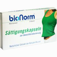 Abbildung von Bionorm Sättigungskapseln 30 Stück