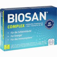 Abbildung von Biosan Complex Kapseln 7 Stück