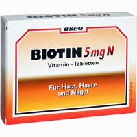Biotin 5mg N Tabletten  150 Stück