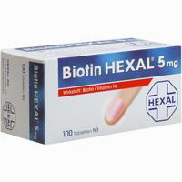 Biotin Hexal 5mg  Tabletten 100 Stück