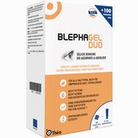 Abbildung von Blephagel Duo 30g + Pads Kombipackung 1 Packung