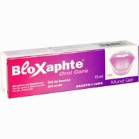 Abbildung von Bloxaphte Oral Care Mund- Gel 15 ml