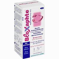 Bloxaphte Spray Für Erwachsene   15 ML