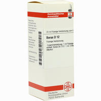Borax D12  Dilution 20 ml