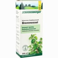 Abbildung von Brennesselsaft Schoenenberger  200 ml