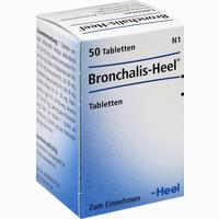 Bronchalis Heel  Tabletten 50 Stück
