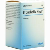 Bronchalis Heel  Tabletten 250 Stück