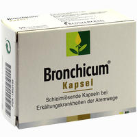 Abbildung von Bronchicum Kapseln 50 Stück
