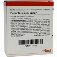 Bronchus Suis-injeel Ampullen  10 Stück