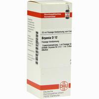 Bryonia D12  Dilution Dhu-arzneimittel 20 ML