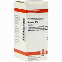 Bryonia D12  Tabletten 80 ST