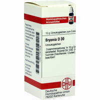 Bryonia D30  Globuli Dhu-arzneimittel 10 G