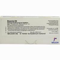 Bryonia D6  Ampullen 8X1 ML
