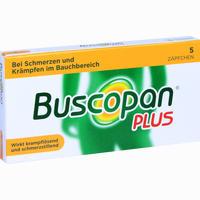 Buscopan Plus  Zäpfchen 5 ST