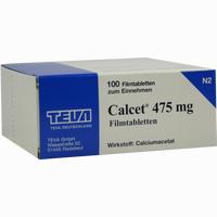 Abbildung von Calcet 475mg Filmtabletten  100 Stück