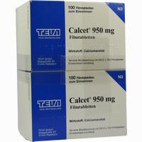Abbildung von Calcet 950mg Filmtabletten  200 Stück