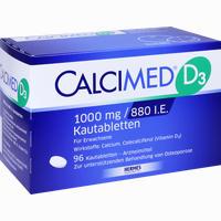 Calcimed D3 1000mg/880 I.e.  Kautabletten 96 Stück