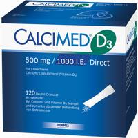Abbildung von Calcimed D3 500 Mg 1000 I.e. Direct Granulat 120 Stück