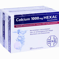 Calcium 1000 Hexal  Brausetabletten 40 Stück