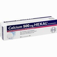 Abbildung von Calcium 500 Hexal Brausetabletten 20 Stück
