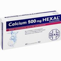 Calcium 500 Hexal  Brausetabletten 40 Stück