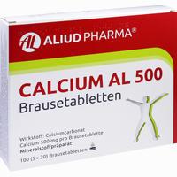 Calcium Al 500  Brausetabletten 100 Stück