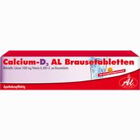 Abbildung von Calcium- D3 Al Brausetabletten  50 Stück