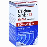 Abbildung von Calcium- Sandoz D Osteo Kautabletten 50 Stück