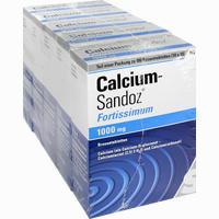 Calcium Sandoz Fortiss  Brausetabletten 5X20 Stück