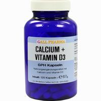 Calcium + Vitamin D3 Gph Kapseln   120 Stück
