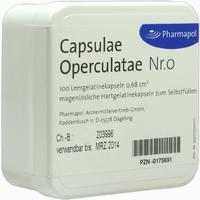 Capsulae Operculatae Nr. 0 0,68 Kapseln 100 Stück