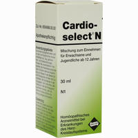 Abbildung von Cardioselect N Mischung Zum Einnehmen Tropfen 30 ml