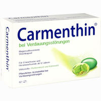 Abbildung von Carmenthin bei Verdauungsstörungen Weichkapsel Kapseln 42 Stück