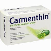 Abbildung von Carmenthin bei Verdauungsstörungen Weichkapsel Kapseln 84 Stück